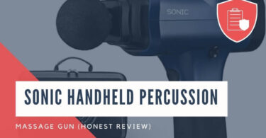 Sonic Handheld Percussion Massage Gun